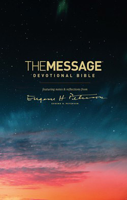 The Message Devotional Bible: Featuring notes and Reflections